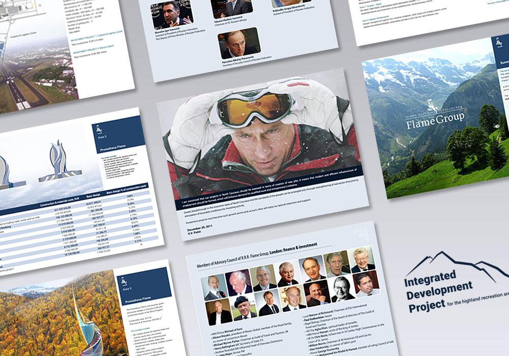 Volkan Aksoy Marka Stratejisi ve Tasarım Çözümleri - Rusya Elbrus Projesi