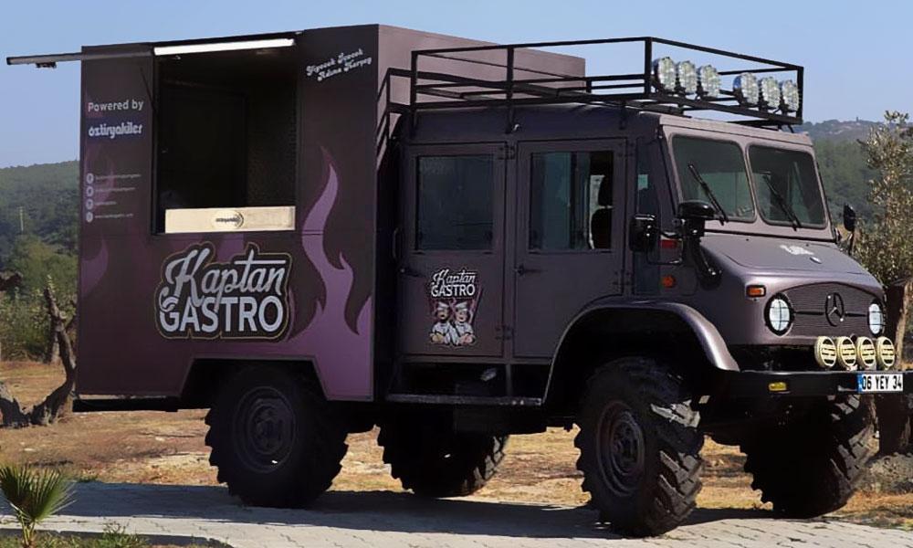 Volkan Aksoy Marka Stratejisi ve Tasarım Çözümleri - Kaptan Gastro - Logo Tasarım