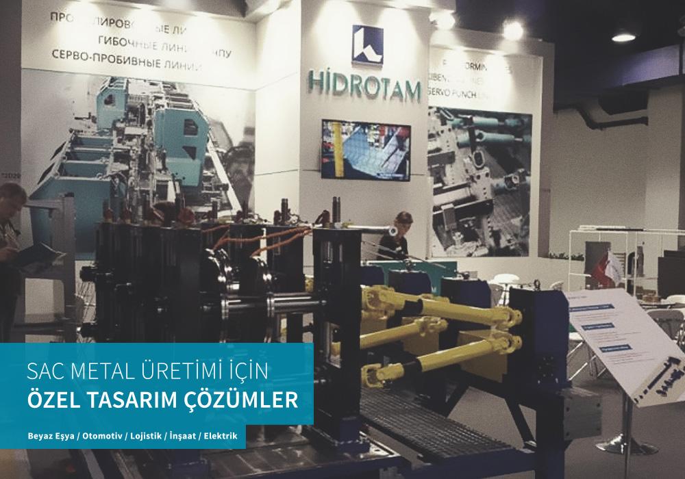 Volkan Aksoy Marka Stratejisi ve Tasarım Çözümleri - Hidrotam - Fuar Stand Tasarımı