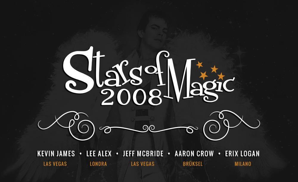 Volkan Aksoy Marka Stratejisi ve Tasarım Çözümleri - Stars Of Magic 2008 - Sihirin Yıldızları
